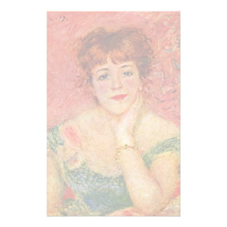 Portrait Of Jeanne Samary By Pierre-Auguste Renoir Stationery