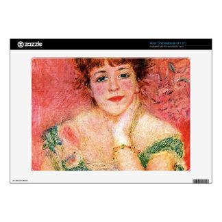 Portrait of Jeanne Samary by Pierre Renoir Acer Chromebook Decals