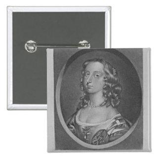 Portrait of Jemima Countess of Sandwich Pinback Button
