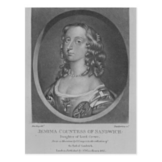 Portrait of Jemima Countess of Sandwich Postcard