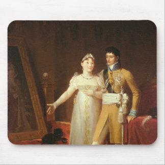 Portrait of Jerome Bonaparte  and his wife Mouse Pad