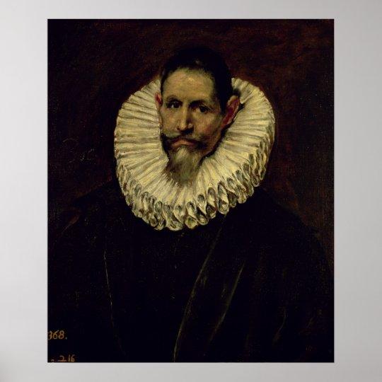 Portrait of Jeronimo de Cevallos, c.1610 Poster