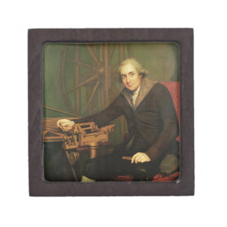 Portrait of Jesse Ramsden (1735-1800) (oil on canv Gift Box