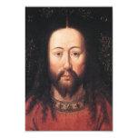 Portrait of Jesus Christ by Jan van Eyck 3.5x5 Paper Invitation Card