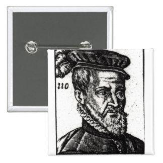 Portrait of Joachim du Bellay Button
