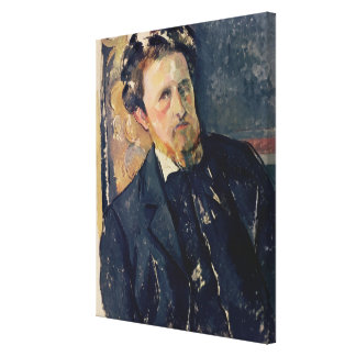 Portrait of Joachim Gasquet  1896-97 Canvas Print