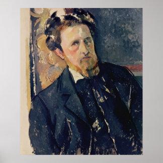 Portrait of Joachim Gasquet  1896-97 Poster