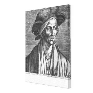 Portrait of Joachim Patinir, 1521 Canvas Print