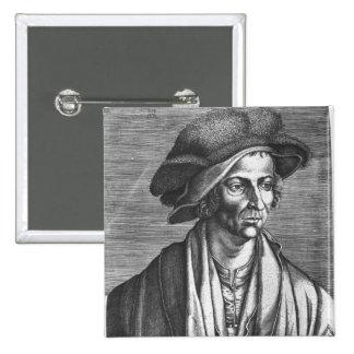 Portrait of Joachim Patinir, 1521 Pinback Button