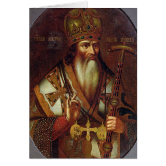 Portrait of Joachim, Patriarch of Moscow Card