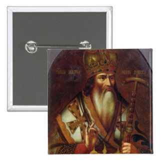 Portrait of Joachim, Patriarch of Moscow Pinback Button