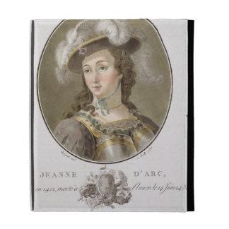 Portrait of Joan of Arc (1412-31), 1787 (coloured iPad Folio Cover