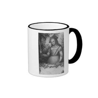 Portrait of Joan of Arc Coffee Mug