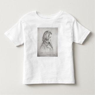 Portrait of Johanes Brahms  aged Twenty, 1853 Toddler T-shirt