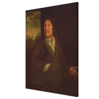 Portrait of Johann Ambrosius Bach , 1685 Canvas Print