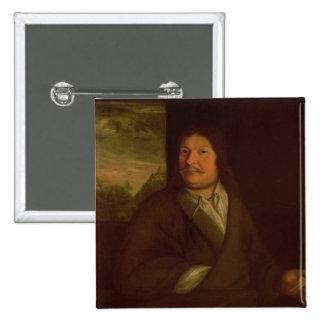 Portrait of Johann Ambrosius Bach , 1685 Pinback Button