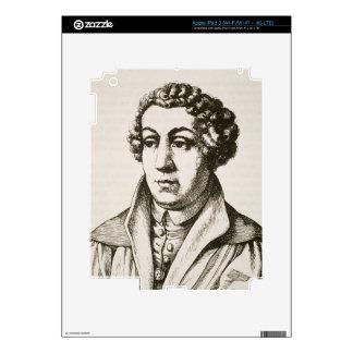 Portrait of Johann Reuchlin (1455-1522) copy of a iPad 3 Decals