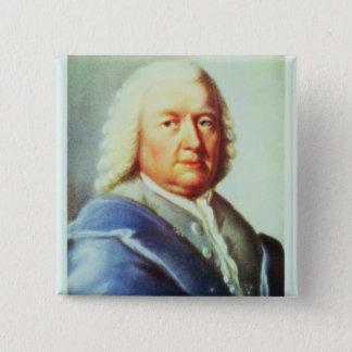 Portrait of Johann Sebastian Bach Button