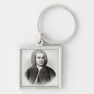 Portrait of Johann Sebastian Bach Key Chains