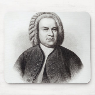 Portrait of Johann Sebastian Bach Mouse Pad