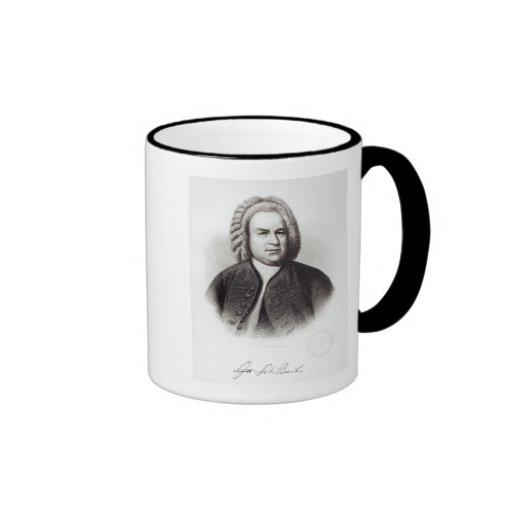 Portrait of Johann Sebastian Bach Mugs
