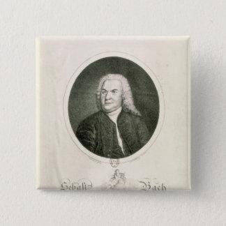 Portrait of Johann Sebastian Bach Pinback Button
