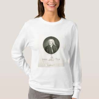 Portrait of Johann Sebastian Bach T-Shirt