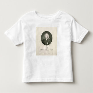 Portrait of Johann Sebastian Bach Toddler T-shirt