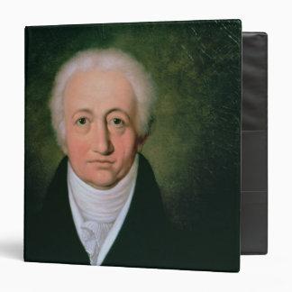Portrait of Johann Wolfgang von Goethe , 1818 Binder