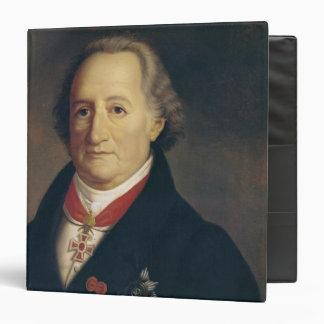 Portrait of Johann Wolfgang von Goethe Binder
