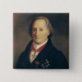 Portrait of Johann Wolfgang von Goethe Pinback Button