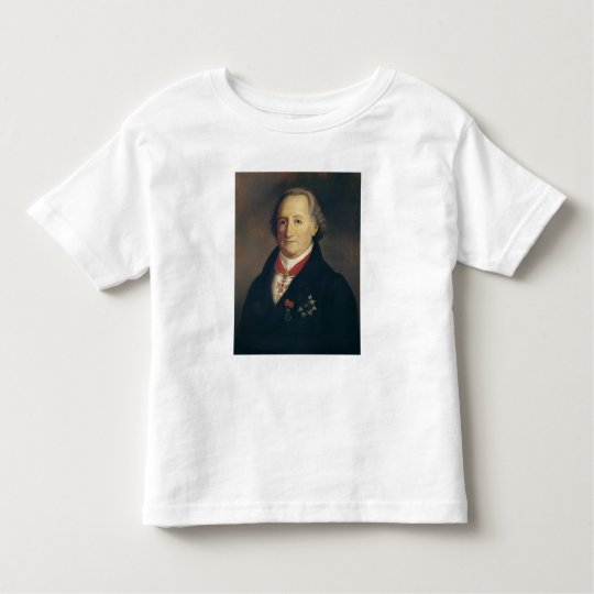 Portrait of Johann Wolfgang von Goethe Toddler T-shirt