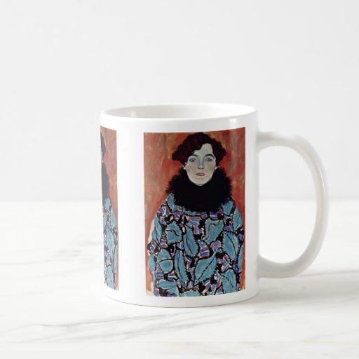 Portrait Of Johanna Staude By Klimt Gustav Mugs