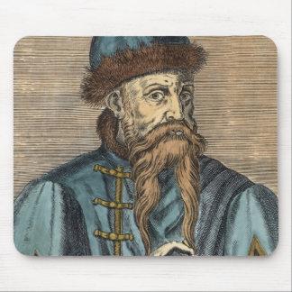 Portrait of Johannes Gutenberg 2 Mouse Pad