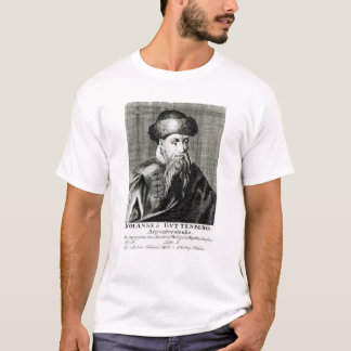 Portrait of Johannes Gutenberg T-Shirt
