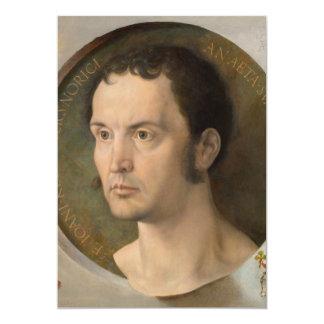 Portrait of Johannes Kleberger by Durer Card