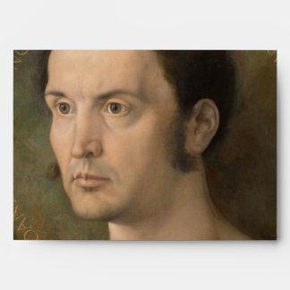 Portrait of Johannes Kleberger by Durer Envelope