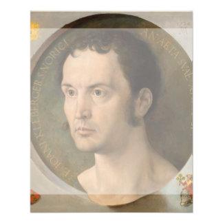 Portrait of Johannes Kleberger by Durer Custom Flyer