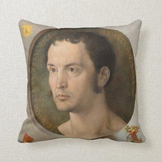 Portrait of Johannes Kleberger by Durer Pillows