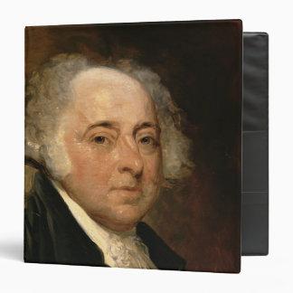 Portrait of John Adams Vinyl Binders