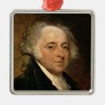 Portrait of John Adams Christmas Tree Ornaments