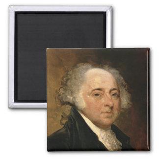 Portrait of John Adams Fridge Magnets