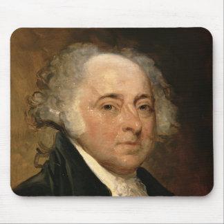Portrait of John Adams Mousepads
