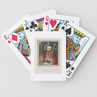Portrait of John Alcock (c. 1430-1500), Founder of Bicycle Playing Cards
