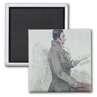 Portrait of John Bellingham  1812 Refrigerator Magnet