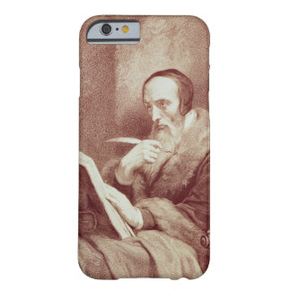 Portrait of John Calvin (1509-1564) (engraving) Barely There iPhone 6 Case