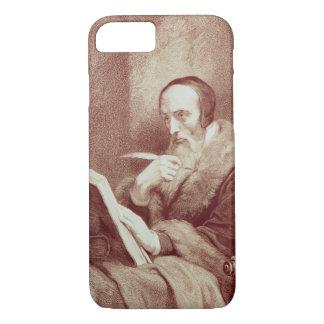 Portrait of John Calvin (1509-1564) (engraving) iPhone 8/7 Case