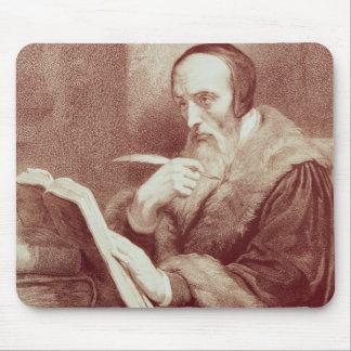 Portrait of John Calvin (1509-1564) (engraving) Mouse Pad