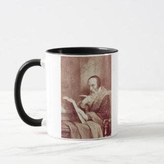 Portrait of John Calvin (1509-1564) (engraving) Mug
