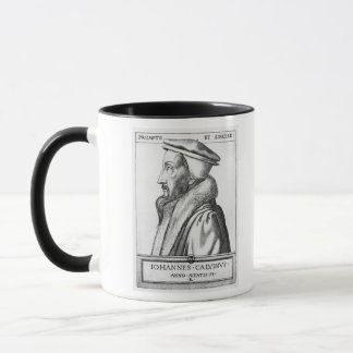 Portrait of John Calvin  aged 53, 1564 Mug